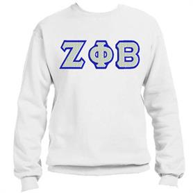 ZFB Crewneck Sweat Top (White 003) - Adgreek