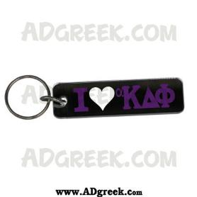 Alpha Kappa Delta Phi Mirrored Keychain - Adgreek