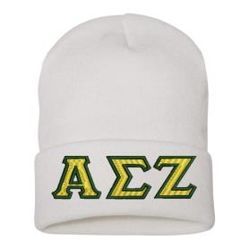 Alpha Sigma Zeta ski hat1 - Adgreek