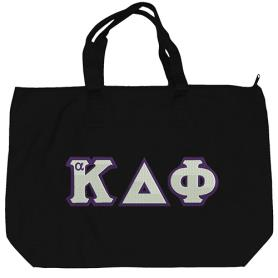 Alpha Kappa Delta Phi Black Tote Bag2 - Adgreek
