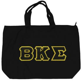 Beta Kappa Sigma Black Tote Bag1 - Adgreek