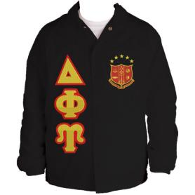 Delta Phi Upsilon Black Line Jacket1 - Adgreek