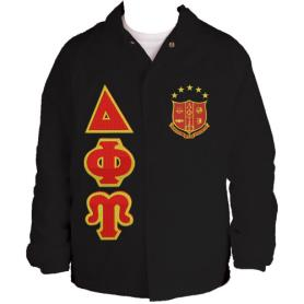 Delta Phi Upsilon Black Line Jacket2 - Adgreek