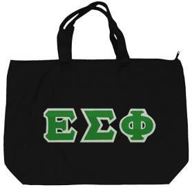 Epsilon Sigma Phi Black Tote Bag2 - Adgreek