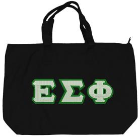 Epsilon Sigma Phi Black Tote Bag1 - Adgreek