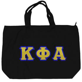 Kappa Phi Alpha Black Tote Bag3 - Adgreek
