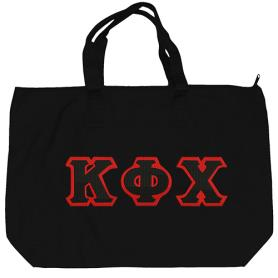 Kappa Phi Chi Black Tote Bag3 - Adgreek