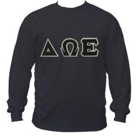 Delta Omega Epsilon Black LST1 - Adgreek