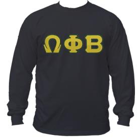 Omega Phi Beta Black LST1 - Adgreek