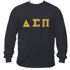 Delta Sigma Pi Black LST1 - Adgreek