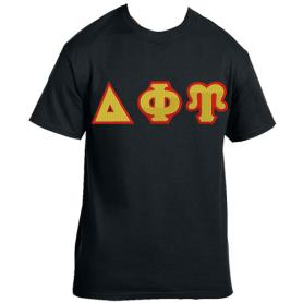 Delta Phi Upsilon Black Tshirt1 - Adgreek