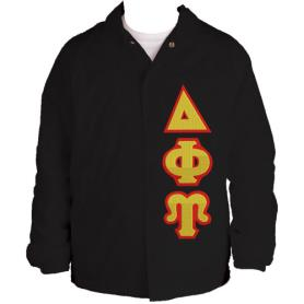 Delta Phi Upsilon Black Line Jacket3 - Adgreek