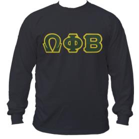 Omega Phi Beta Black LST2 - Adgreek