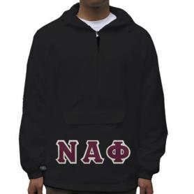 Nu Alpha Phi Black Pullover1 - Adgreek
