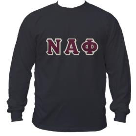 Nu Alpha Phi Black LST1 - Adgreek