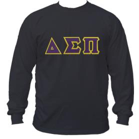 Delta Sigma Pi Black LST2 - Adgreek
