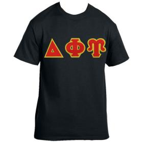 Delta Phi Upsilon Black Tshirt2 - Adgreek
