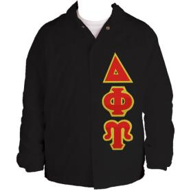 Delta Phi Upsilon Black Line Jacket4 - Adgreek