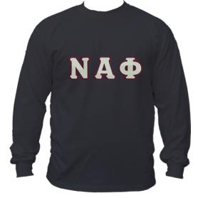 Nu Alpha Phi Black LST2 - Adgreek