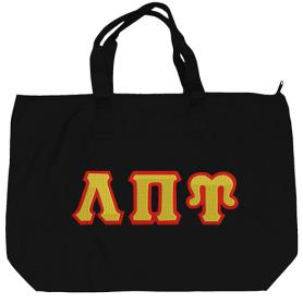 Lambda Pi Upsilon Black Tote Bag4 - Adgreek