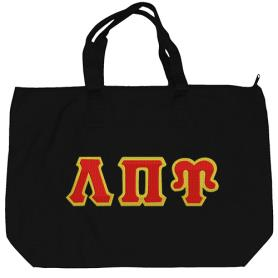 Lambda Pi Upsilon Black Tote Bag5 - Adgreek