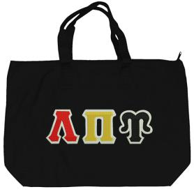 Lambda Pi Upsilon Black Tote Bag1 - Adgreek