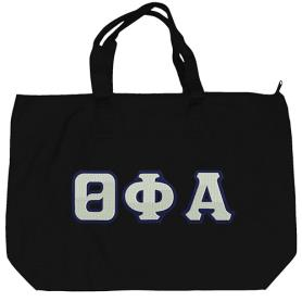Theta Phi Alpha Black Tote Bag2 - Adgreek