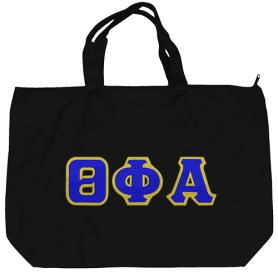 Theta Phi Alpha Black Tote Bag3 - Adgreek