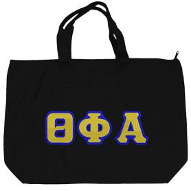 Theta Phi Alpha Black Tote Bag4 - Adgreek