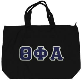 Theta Phi Alpha Black Tote Bag1 - Adgreek