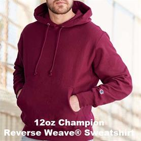 12oz_Champion_Reverse Weave® Hooded Sweatshirt - Adgreek