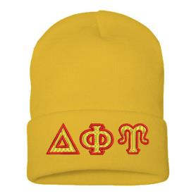 Delta Phi Upsilon ski hat2 - Adgreek