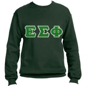 Epsilon Sigma Phi Forest Green Crewneck1 - Adgreek