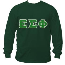 Epsilon Sigma Phi Forest Green LST1 - Adgreek