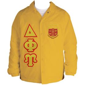 Delta Phi Upsilon Gold Line Jacket1 - Adgreek