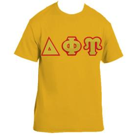 Delta Phi Upsilon Gold Tshirt1 - Adgreek