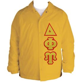 Delta Phi Upsilon Gold Line Jacket2 - Adgreek