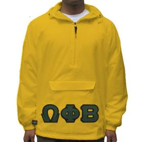 Omega Phi Beta Gold Pullover2 - Adgreek