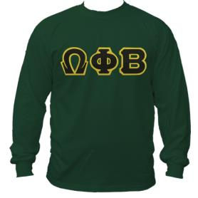 Omega Phi Beta Forest Green LST1 - Adgreek
