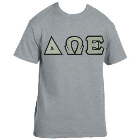 Delta Omega Epsilon Grey Tshirt1 - Adgreek