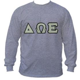 Delta Omega Epsilon Grey LST1 - Adgreek