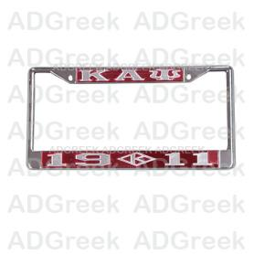 Kappa Alpha Psi Mirror Acrylic License frame019 - Adgreek