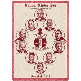 Kappa Alpha Psi Afghan Founder - Adgreek