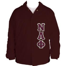 Nu Alpha Phi Maroon Jacket2 - Adgreek