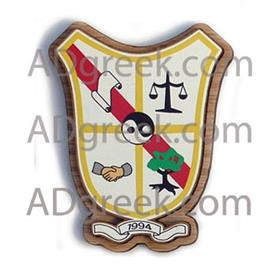 Pi Delta Psi  Wooden Crest - Adgreek
