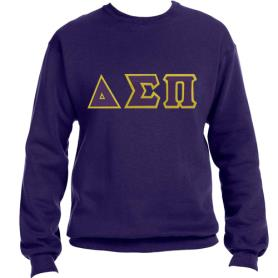 Delta Sigma Pi Purple Crewneck1 - Adgreek