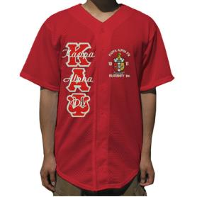 Kappa Alpha Psi Red Mesh Baseball Jersey3 - Adgreek