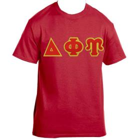 Delta Phi Upsilon Red Tshirt1 - Adgreek