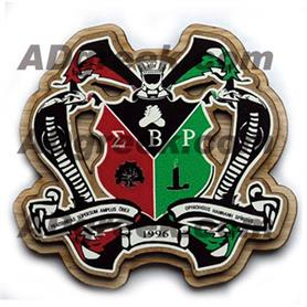 Sigma Beta Rho  Wooden Crest - Adgreek