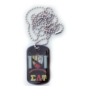 Sigma Lambda Upsilon Dog Tag2 - Adgreek